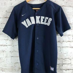 Boy's Nike New York Yankees Baseball Jersey Size L